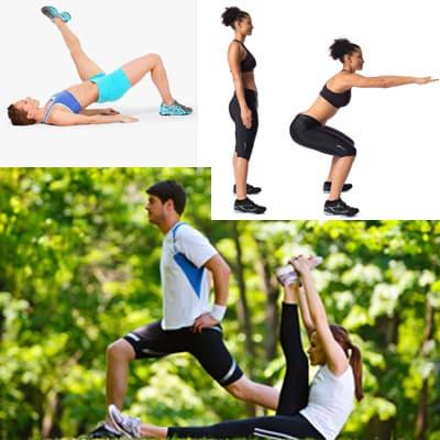 Трюки для укрепления ног.