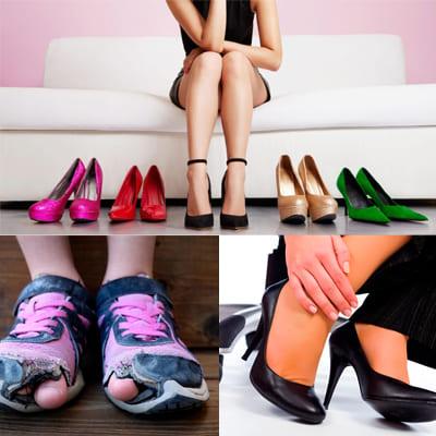 сменить обувь